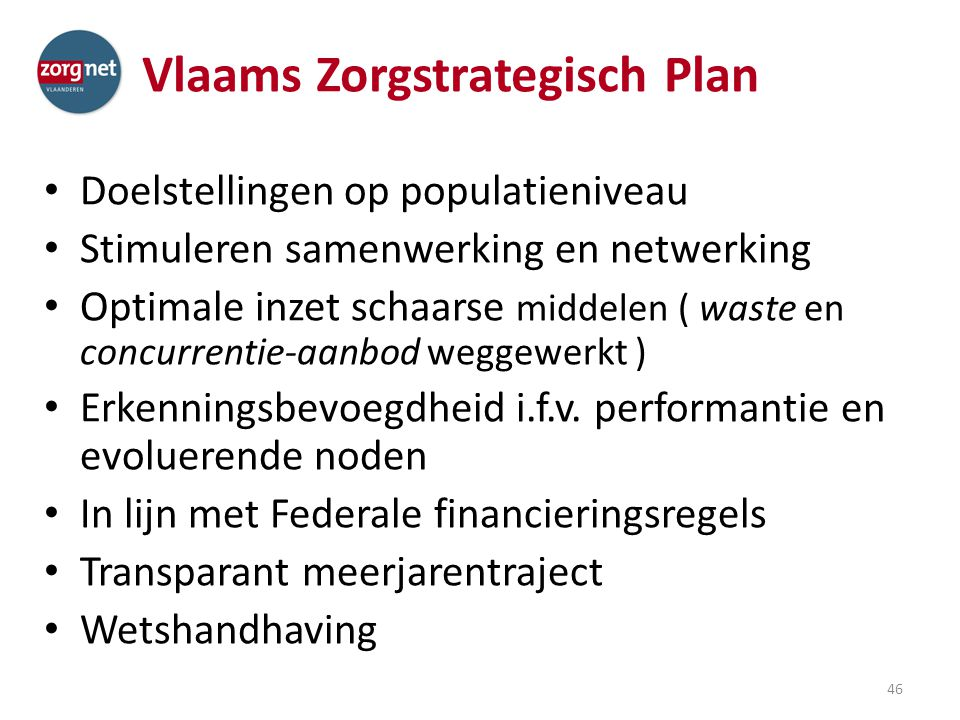 Vlaams Zorgstrategisch Plan
