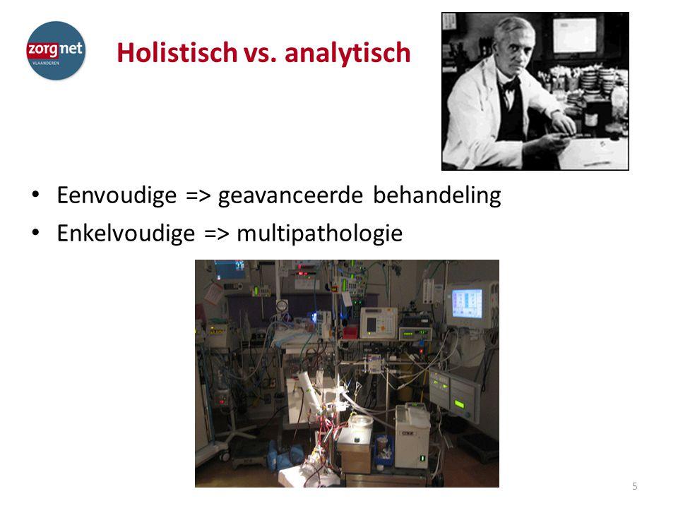 Holistisch vs. analytisch