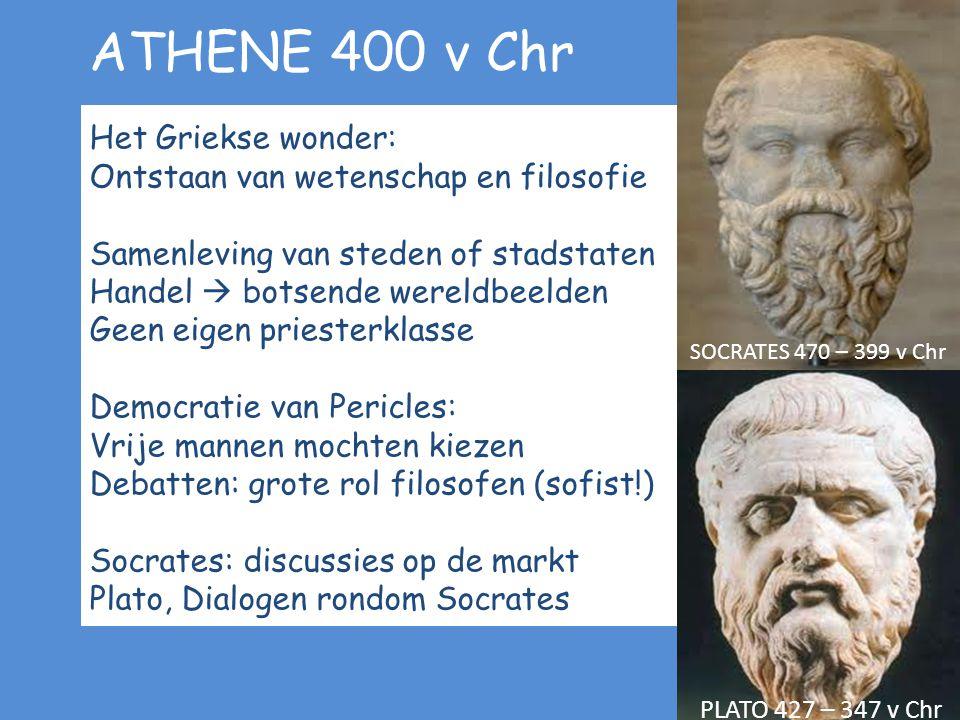 ATHENE 400 v Chr Het Griekse wonder: