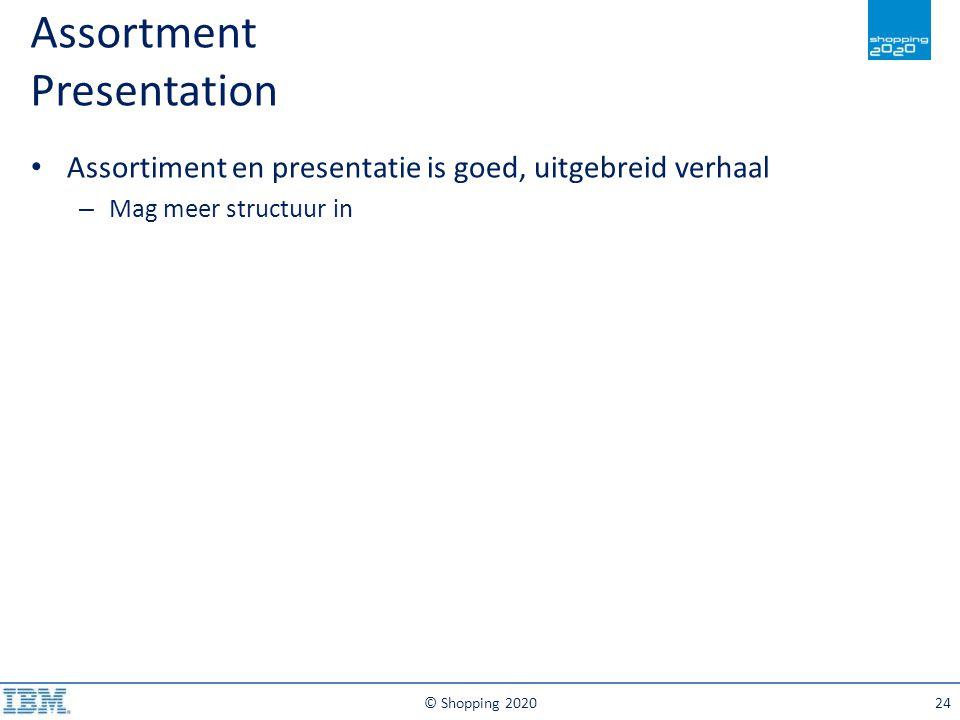 Assortment Presentation