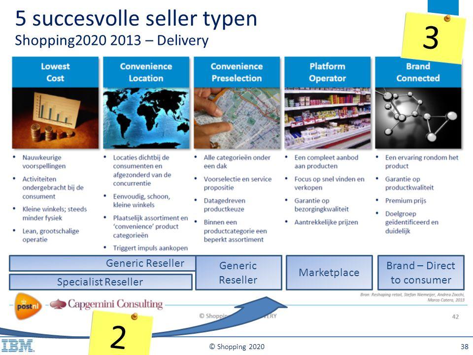5 succesvolle seller typen