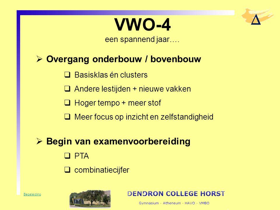VWO-4 een spannend jaar….