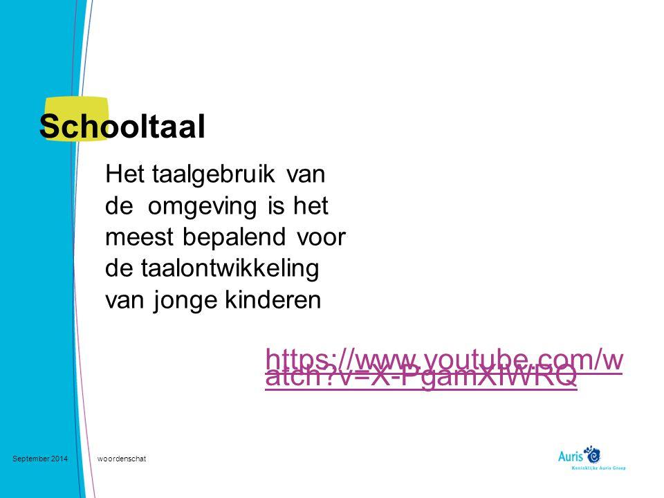Schooltaal https://www.youtube.com/watch v=X-PgamXIWRQ