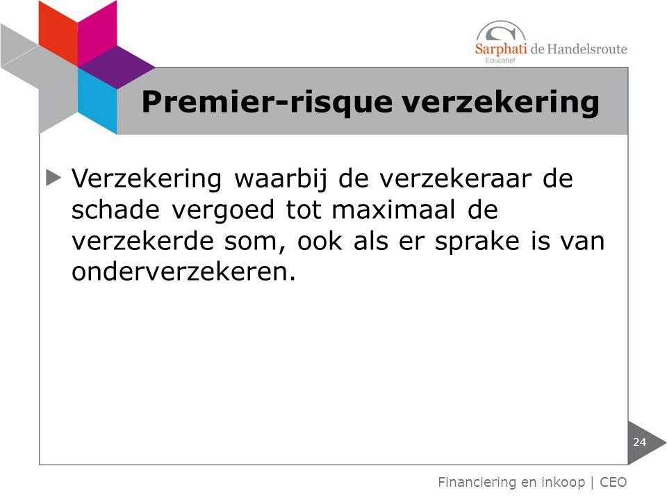 Premier-risque verzekering