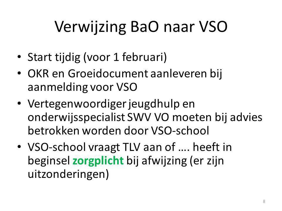 Verwijzing BaO naar VSO