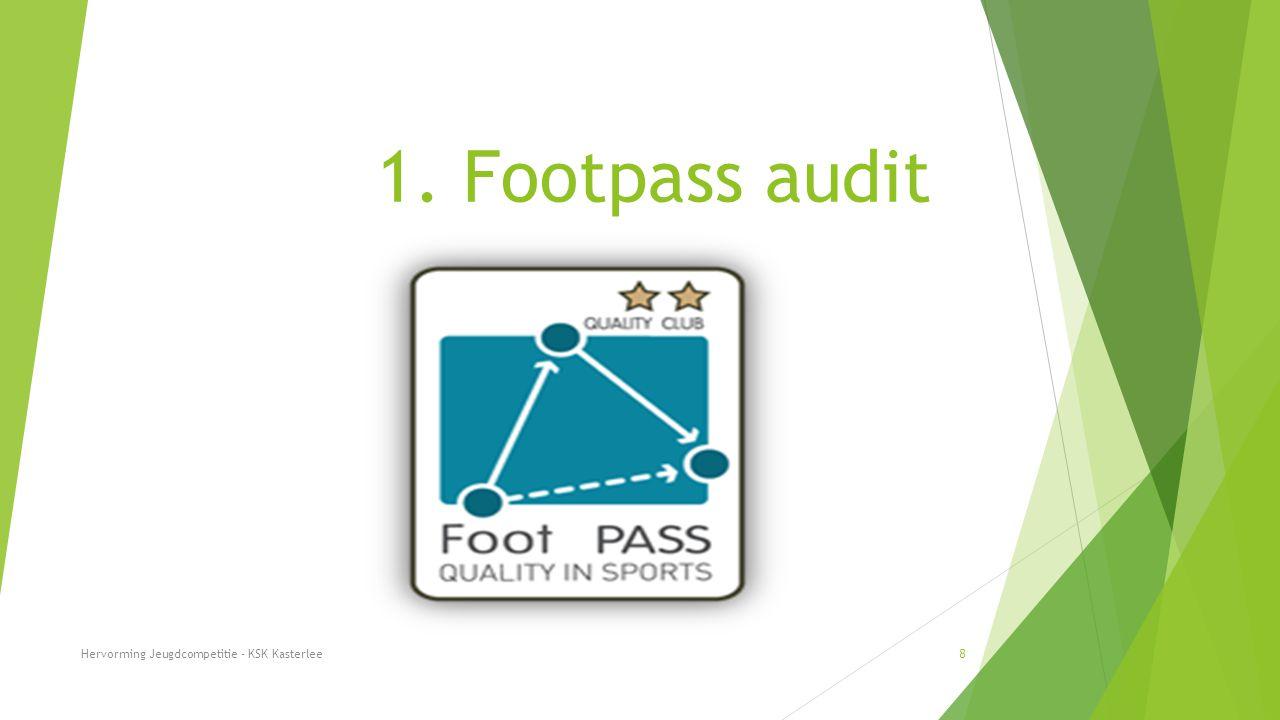 1. Footpass audit Hervorming Jeugdcompetitie - KSK Kasterlee