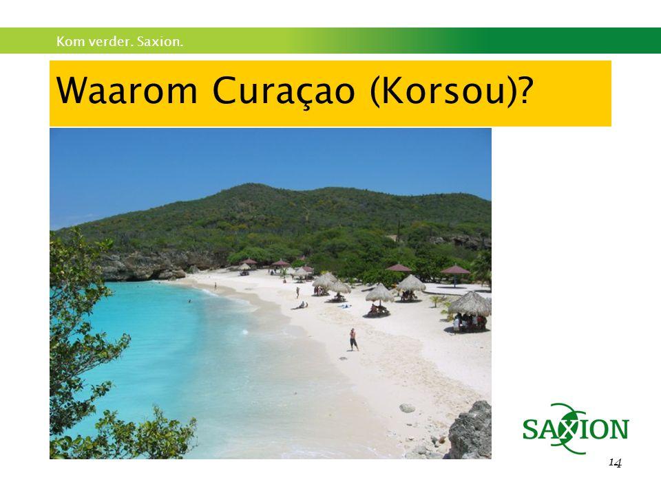 Waarom Curaçao (Korsou)