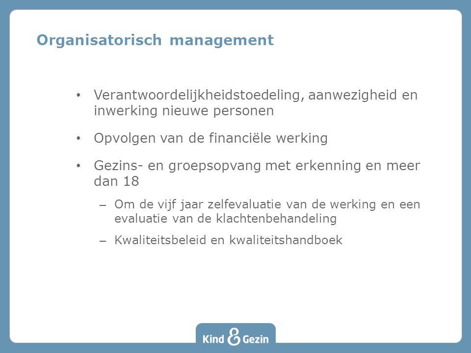 Organisatorisch management