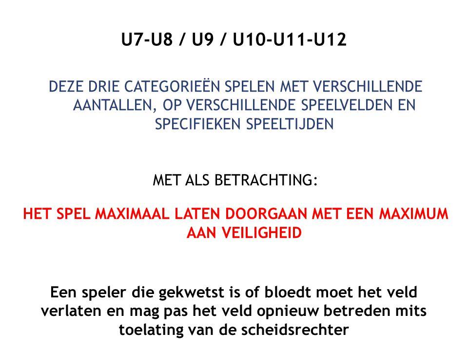 U7-U8 / U9 / U10-U11-U12