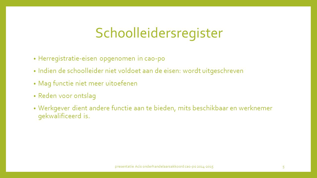 Schoolleidersregister