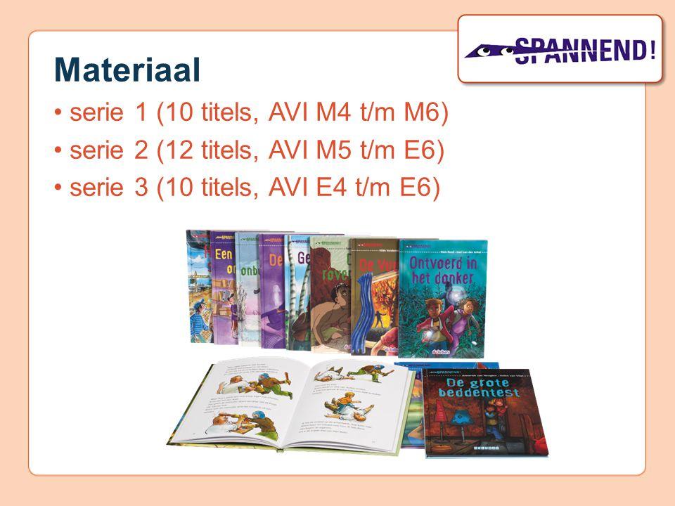 Materiaal • serie 1 (10 titels, AVI M4 t/m M6)