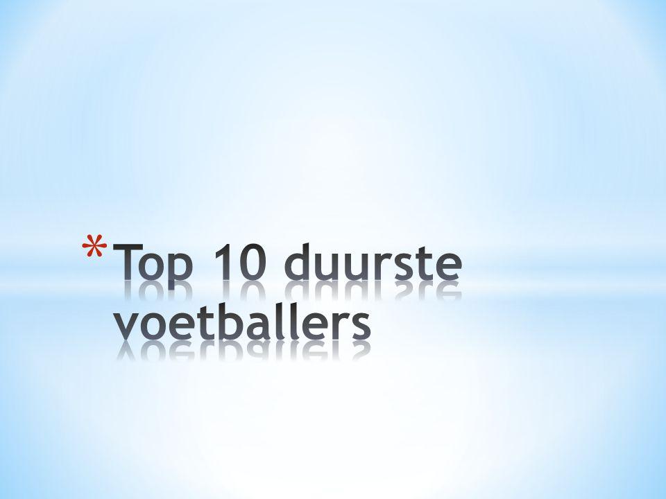 Top 10 duurste voetballers