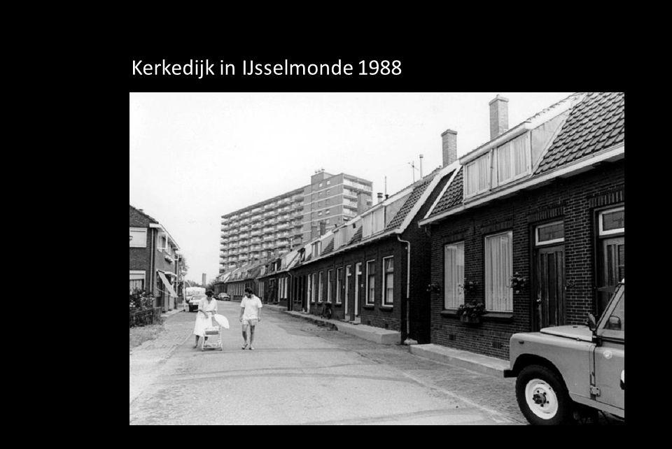 Kerkedijk in IJsselmonde 1988