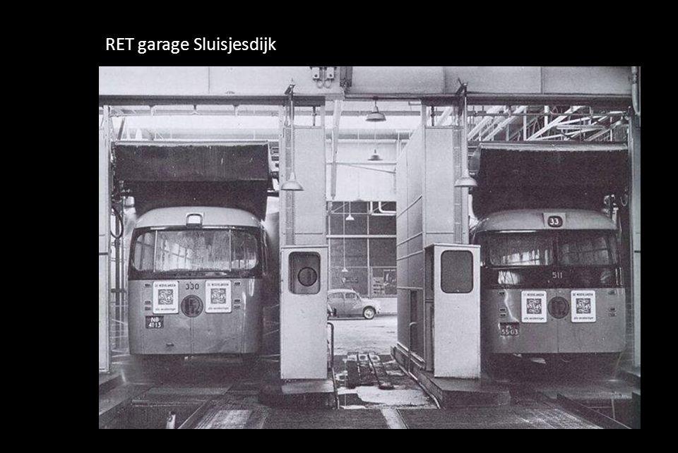 RET garage Sluisjesdijk