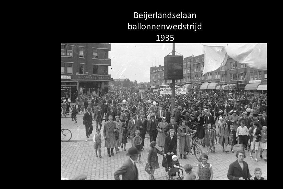 Beijerlandselaan ballonnenwedstrijd 1935