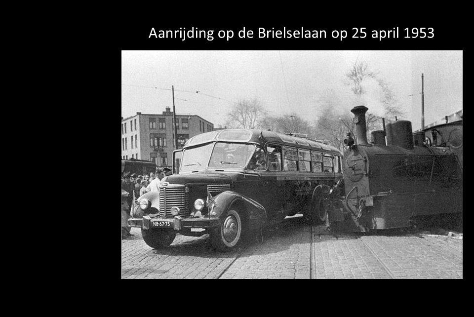Aanrijding op de Brielselaan op 25 april 1953