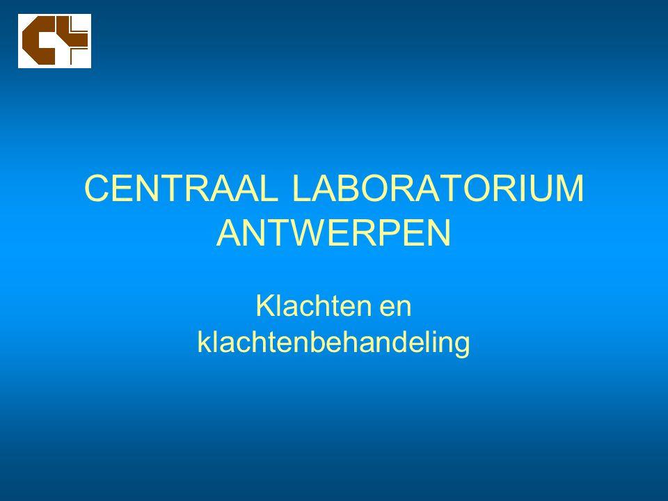 CENTRAAL LABORATORIUM ANTWERPEN