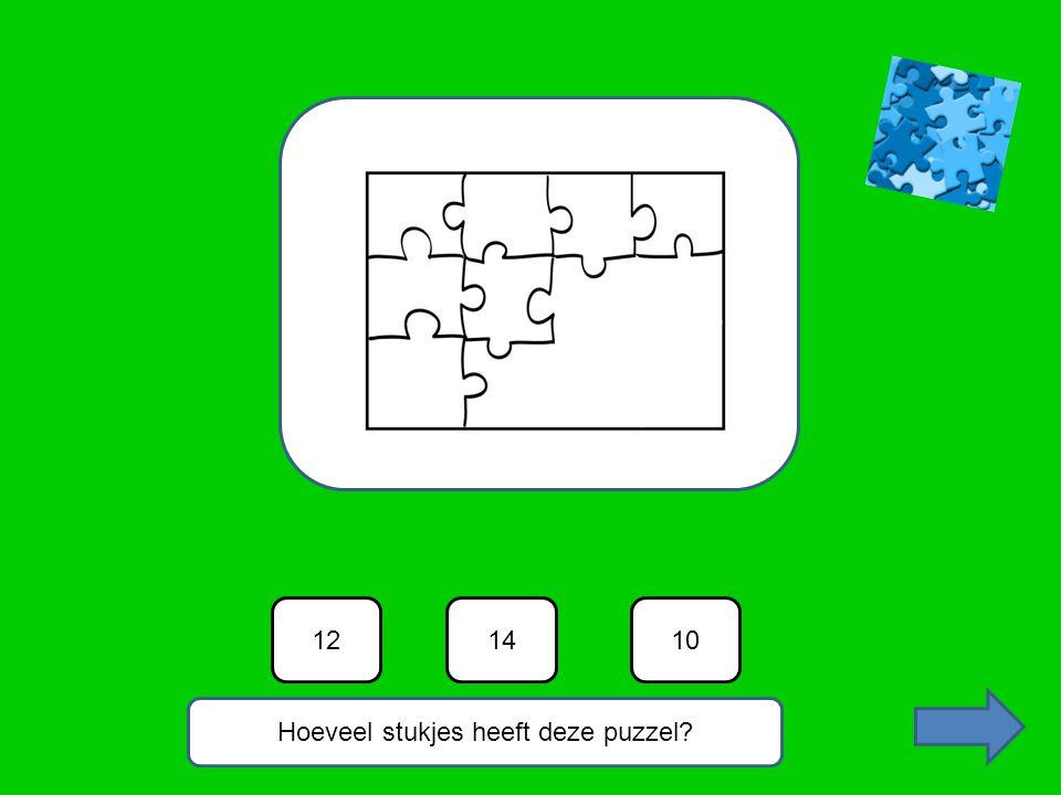 Hoeveel stukjes heeft deze puzzel