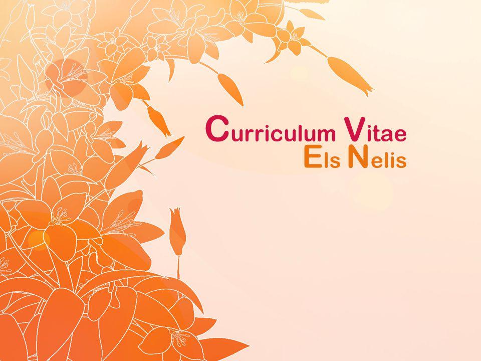 Curriculum Vitae Els Nelis