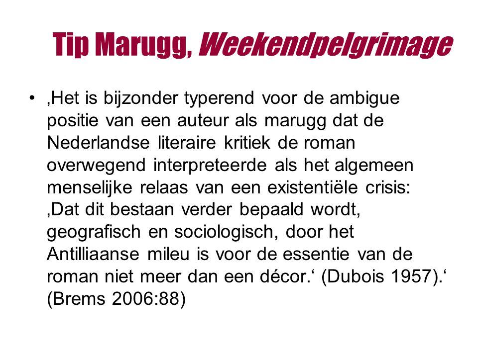 Tip Marugg, Weekendpelgrimage