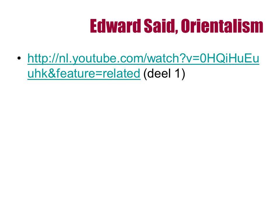 Edward Said, Orientalism