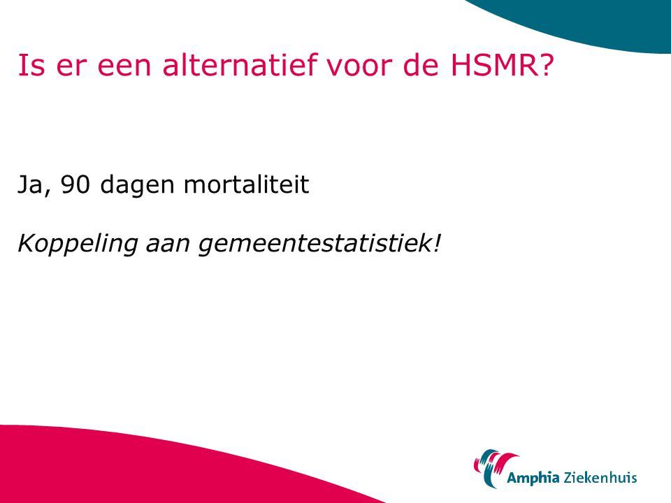 Is er een alternatief voor de HSMR
