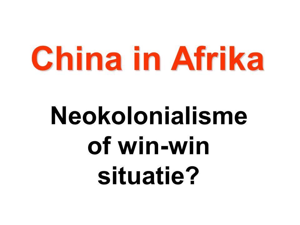 Neokolonialisme of win-win situatie