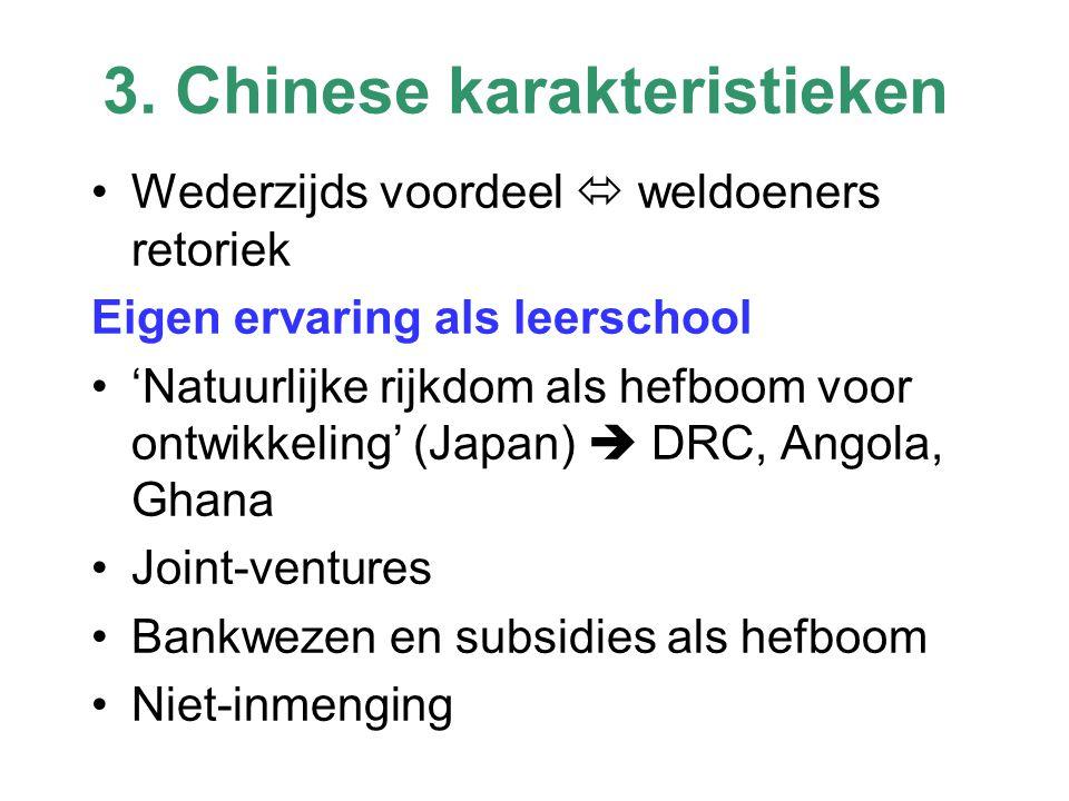 3. Chinese karakteristieken