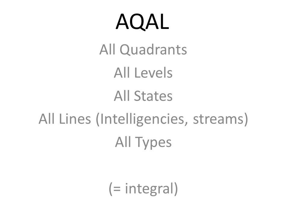 All Lines (Intelligencies, streams)