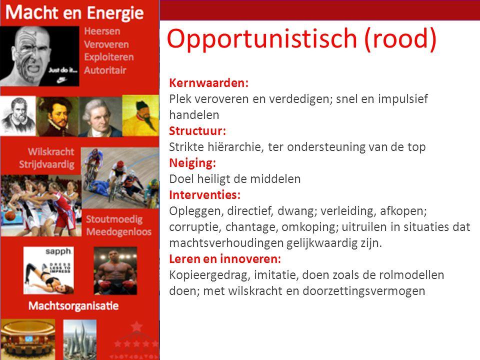 Opportunistisch (rood)