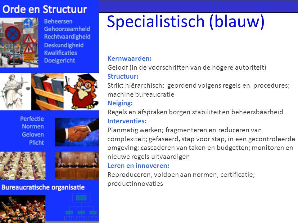 Specialistisch (blauw)
