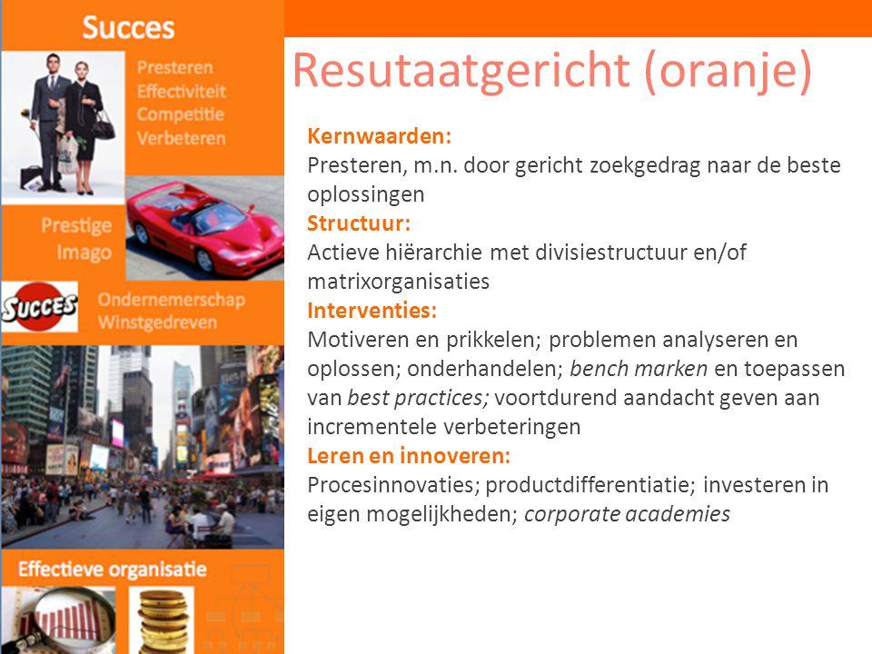 Resutaatgericht (oranje)
