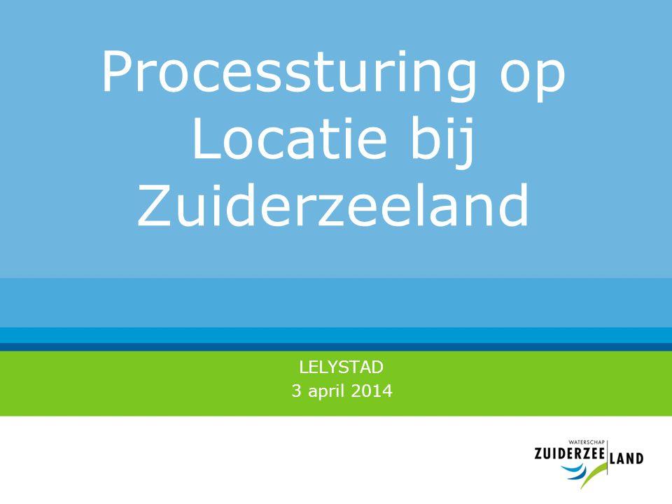 Processturing op Locatie bij Zuiderzeeland