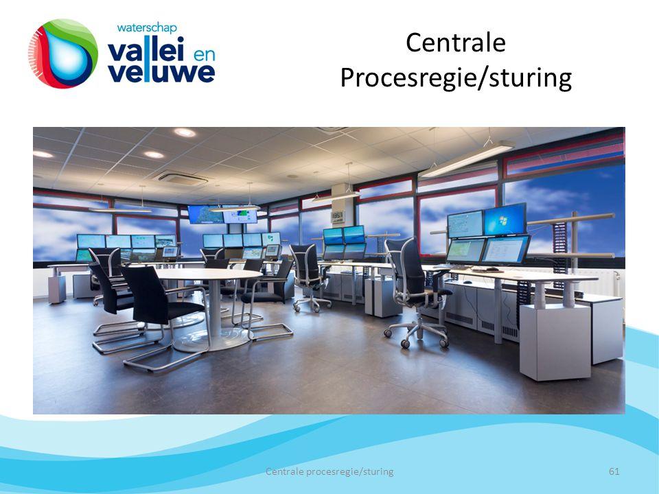 Centrale Procesregie/sturing