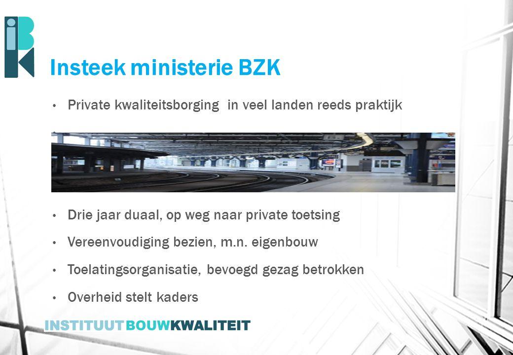 Insteek ministerie BZK