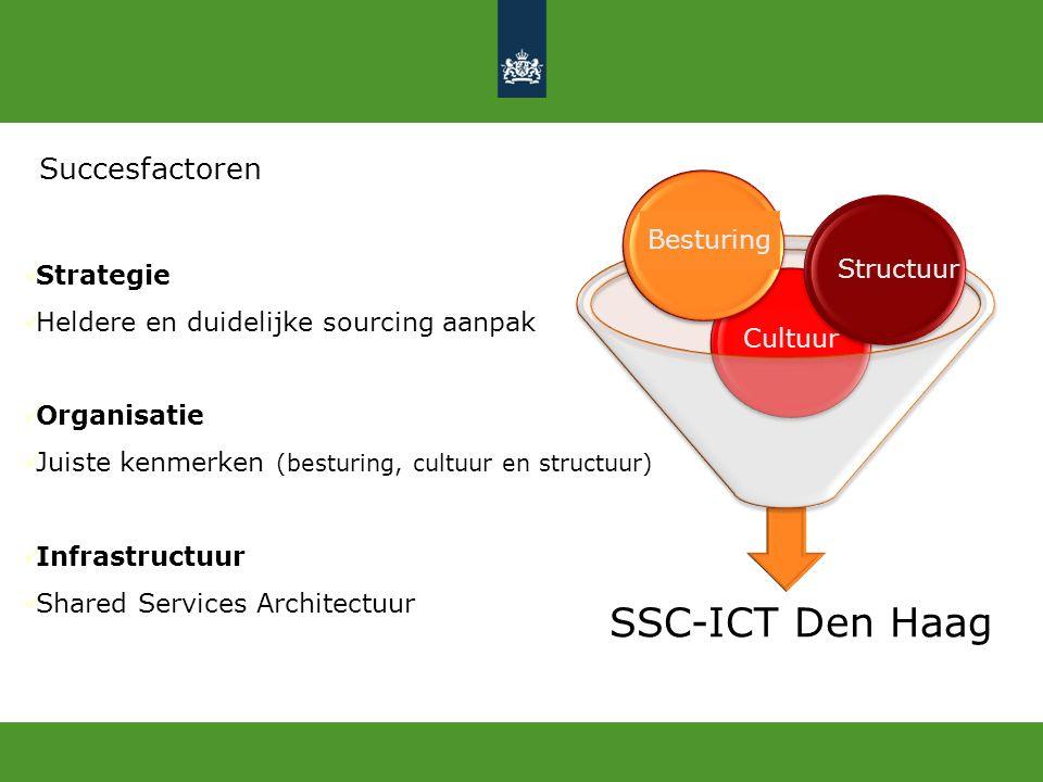 SSC-ICT Den Haag Succesfactoren Besturing Strategie Structuur