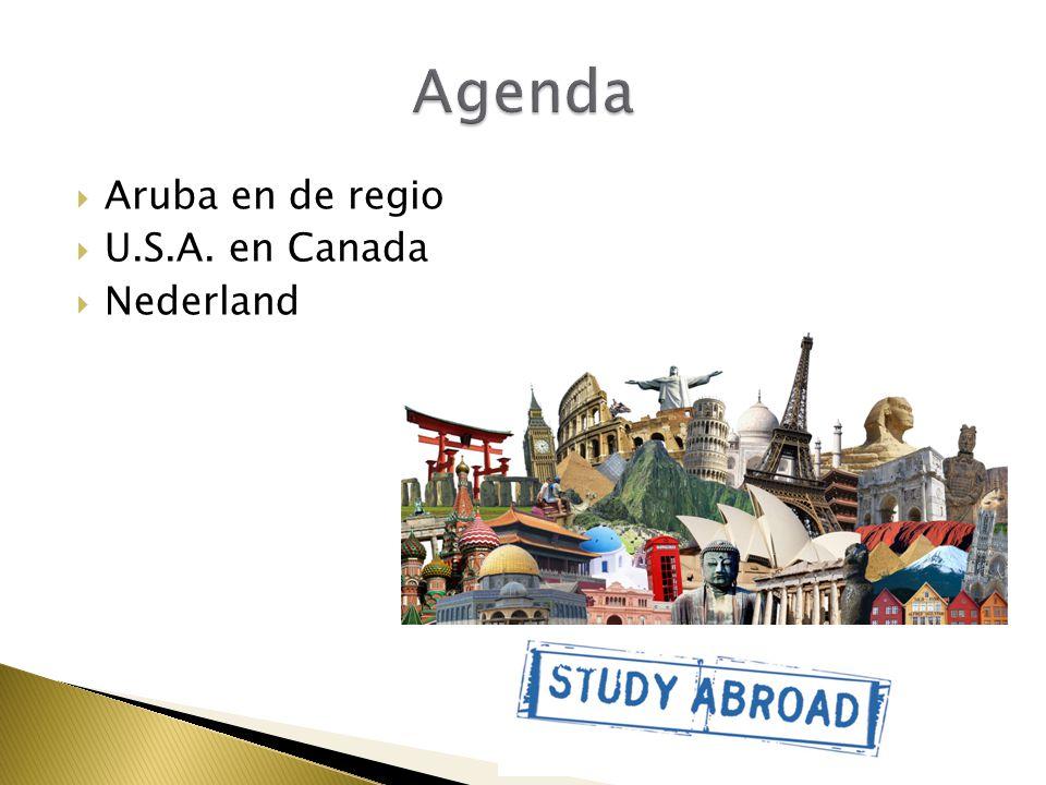 Agenda Aruba en de regio U.S.A. en Canada Nederland