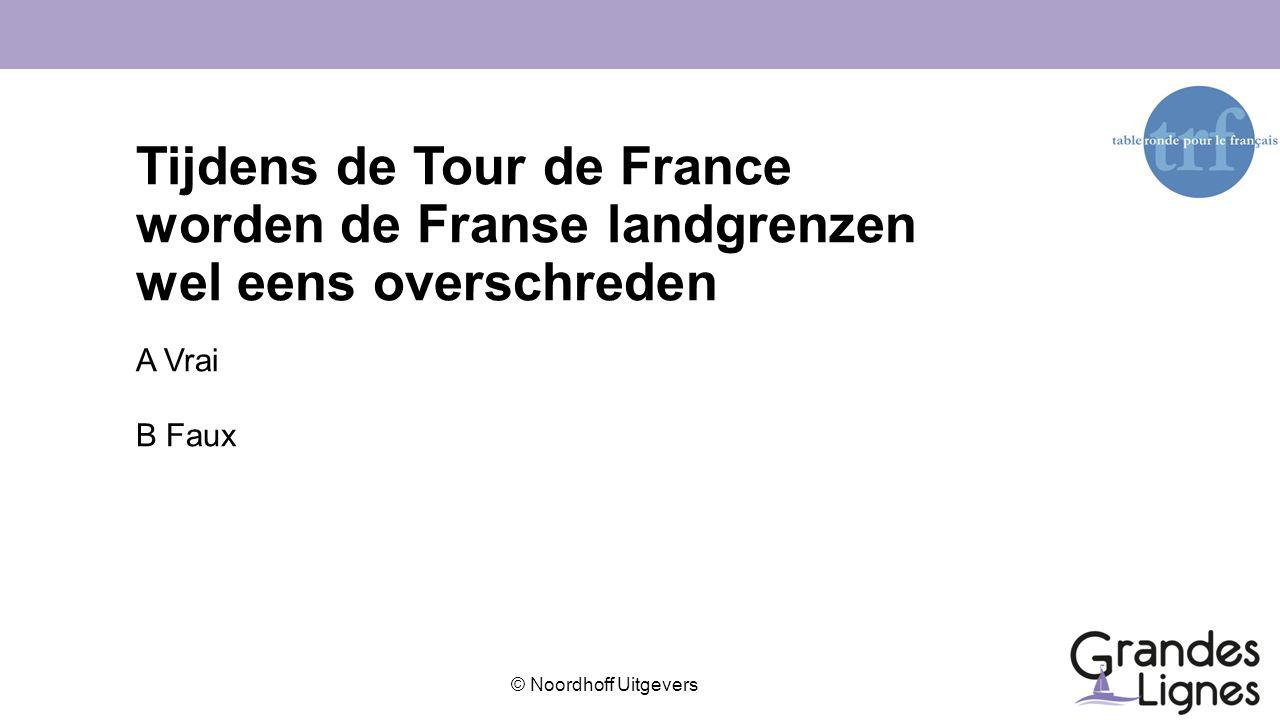Tijdens de Tour de France worden de Franse landgrenzen wel eens overschreden