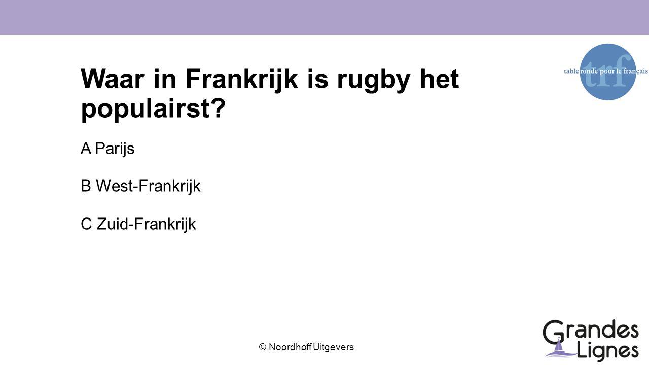 Waar in Frankrijk is rugby het populairst