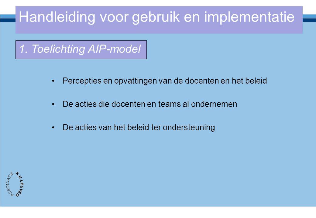 Handleiding voor gebruik en implementatie