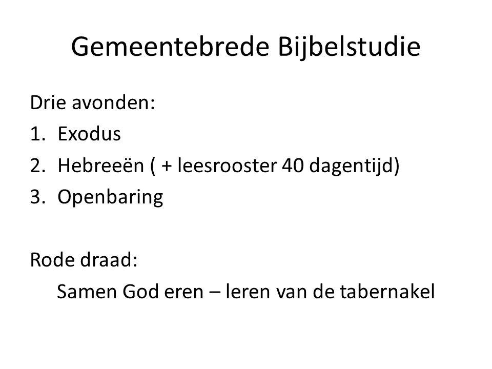 Gemeentebrede Bijbelstudie
