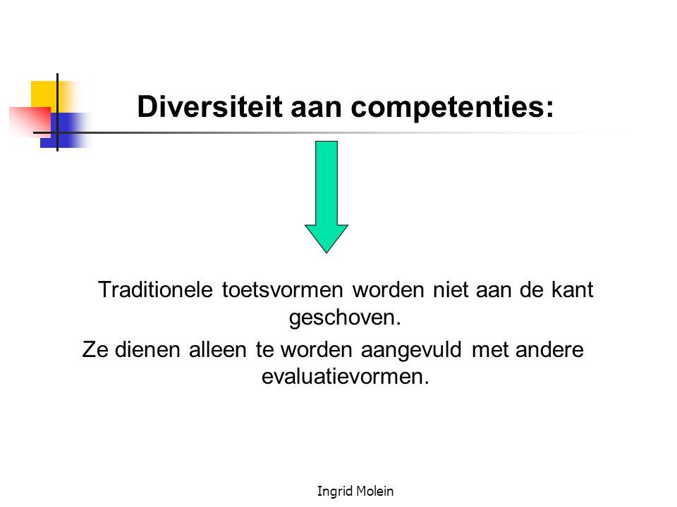 Diversiteit aan competenties: