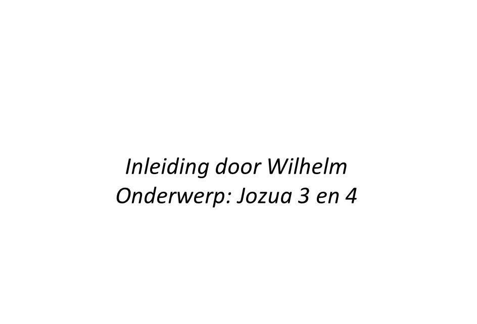Inleiding door Wilhelm