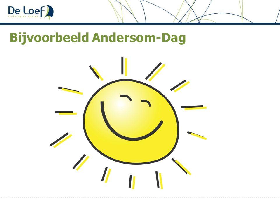 Bijvoorbeeld Andersom-Dag