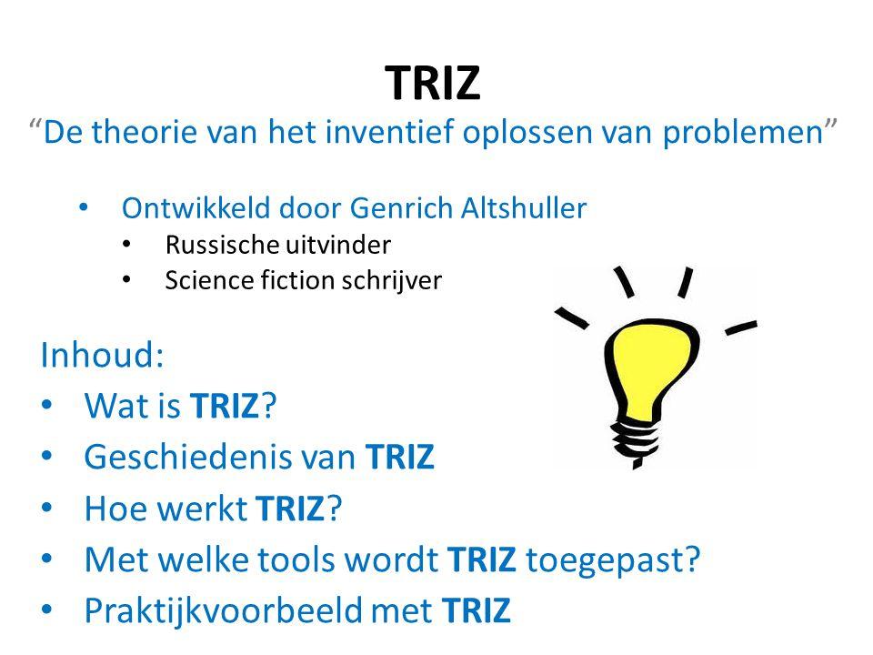 De theorie van het inventief oplossen van problemen