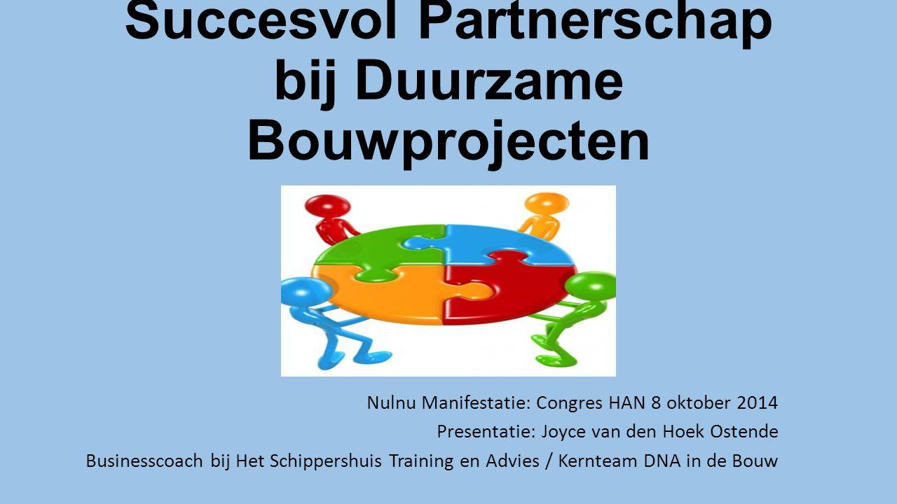 Succesvol Partnerschap bij Duurzame Bouwprojecten