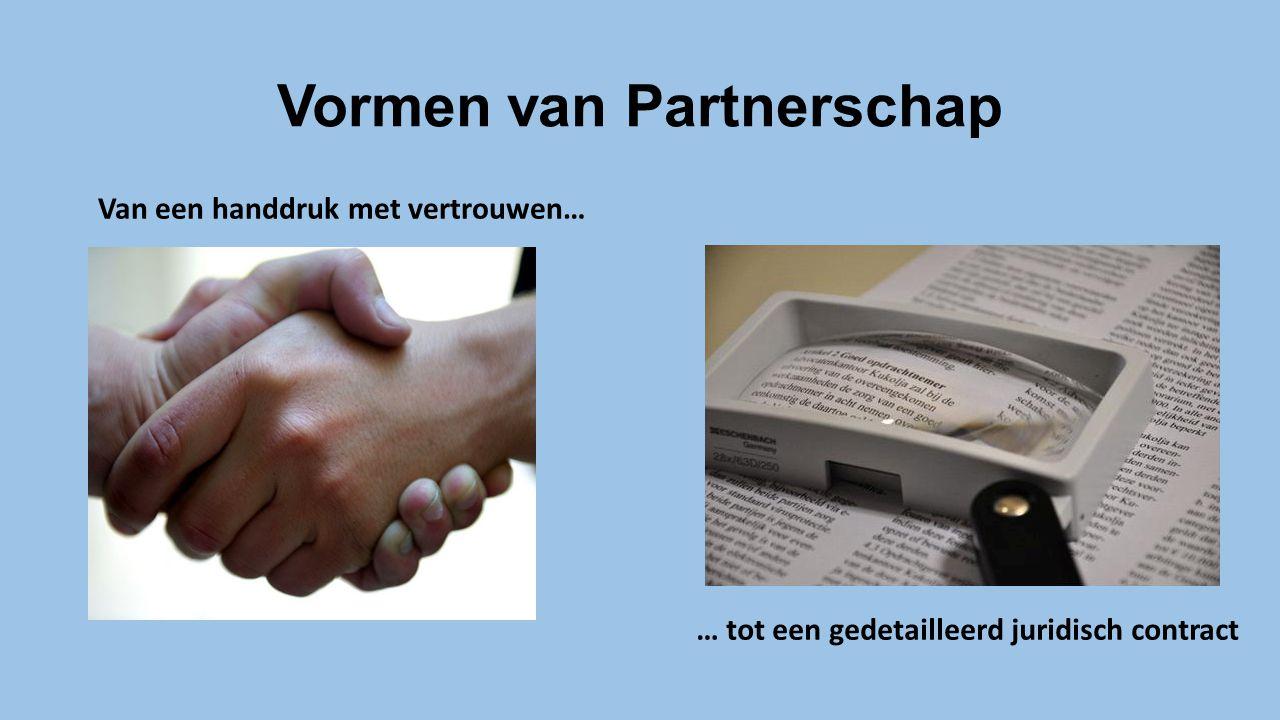 Vormen van Partnerschap