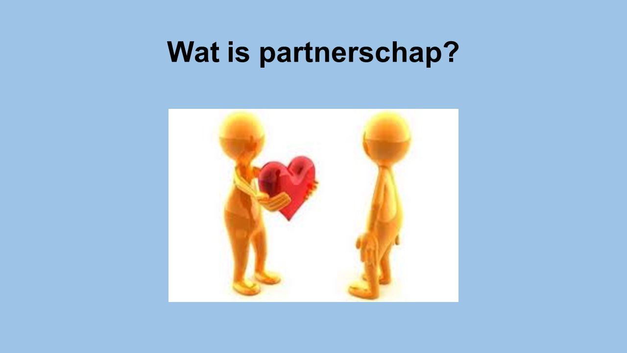Wat is partnerschap