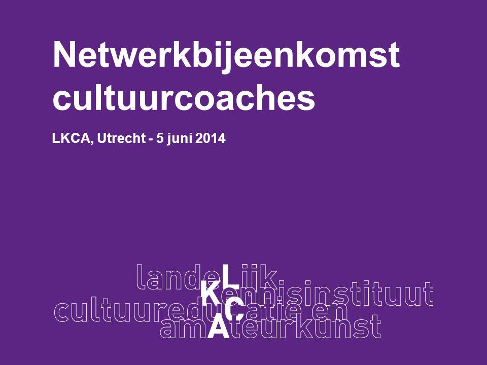 Netwerkbijeenkomst cultuurcoaches