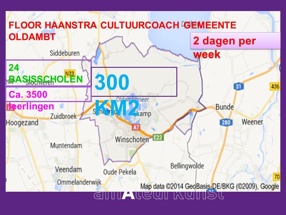 Floor Haanstra cultuurcoach gemeente Oldambt